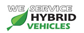 We Service Hybrid Vehicles